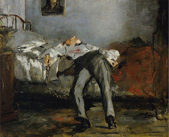 suicidio psicología hablar Manet