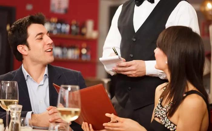 asertividad petición restaurante