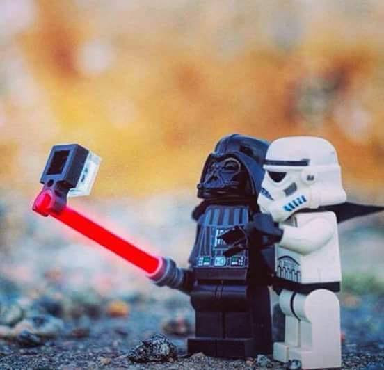selfie darth vader