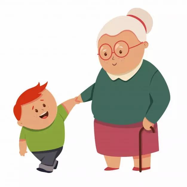 conversación muerte abuela niño