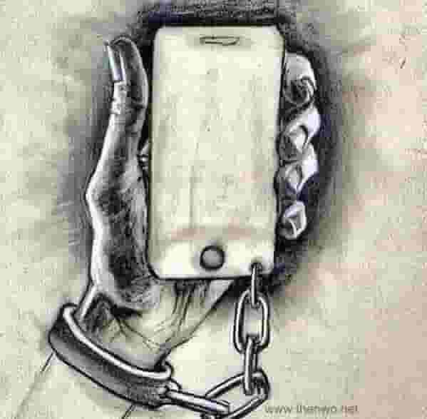 adicción móvil esclavo
