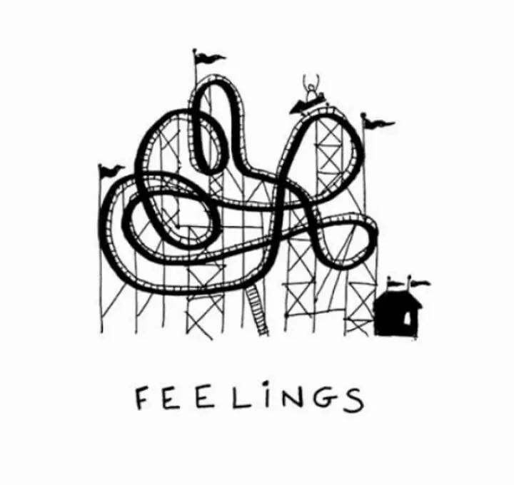 emociones montaña rusa psicólogo