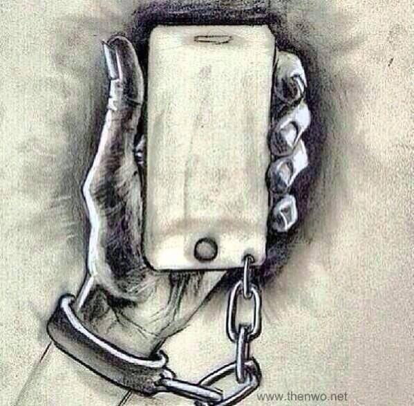 encadenado enganchado móvil
