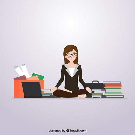 scene-of-business-woman-meditating-befor