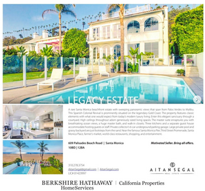 Santa Monica Luxury real estate photography