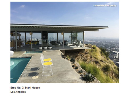 Houzz showcases my images of the Stahl House (Case Study House #22)
