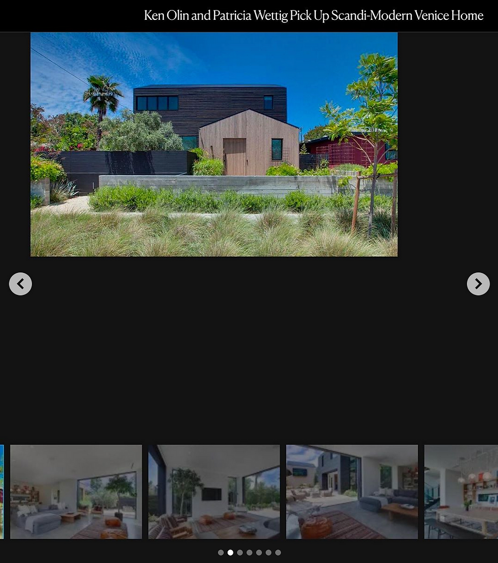 Los Angeles Modern architectural photography