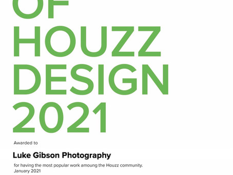 Best of Houzz Design 2021 award