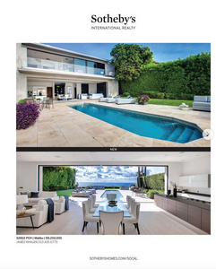 Malibu architectural residential photography