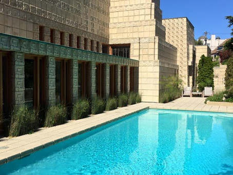 Frank Lloyd Wright's monumental Ennis House hits the market for $23 million