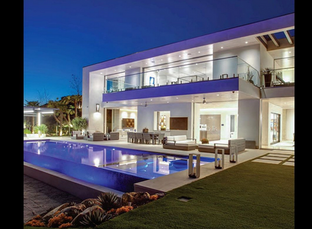 The MLS Brokers Caravan Magazine showcases my image of modern architectural residence