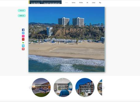 Brand new website for Luke Gibson Photography