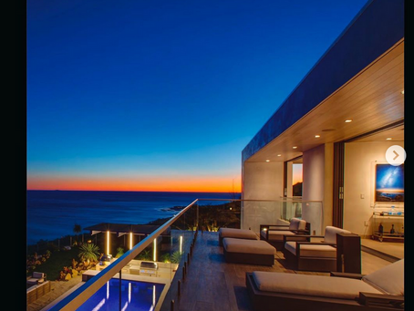 The MLS Brokers Caravan Magazine features my images of brand new modern, ocean view architectural