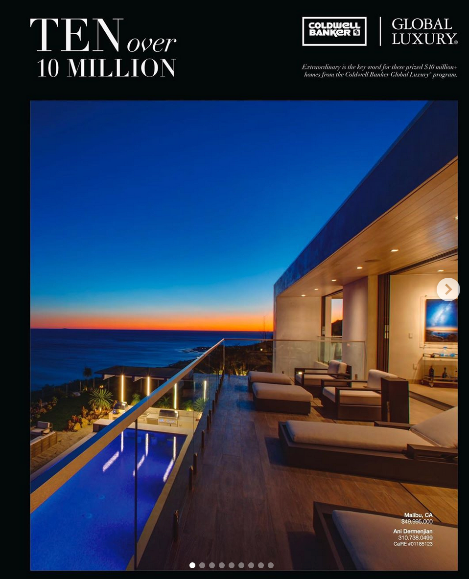 Malibu luxury architectural photography