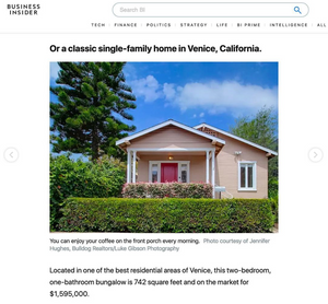 Venice real estate photography