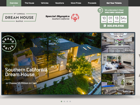 Special Olympics Dream House Raffle showcases my images of modern Hollywood Hills residence