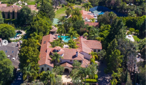 Orange County aerial drone luxury real estate photography