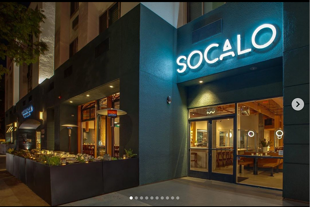 Los Angeles restaurant photography