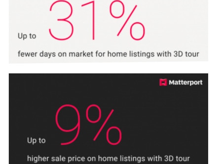 Matterport 3D tour photography helps sell properties faster and for a higher sales price