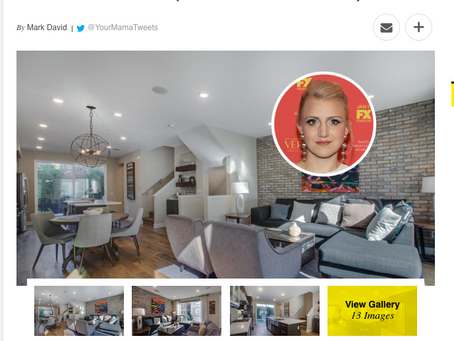 Variety Magazine features my images of actress Annaleigh Ashford's Hollywood Hills house