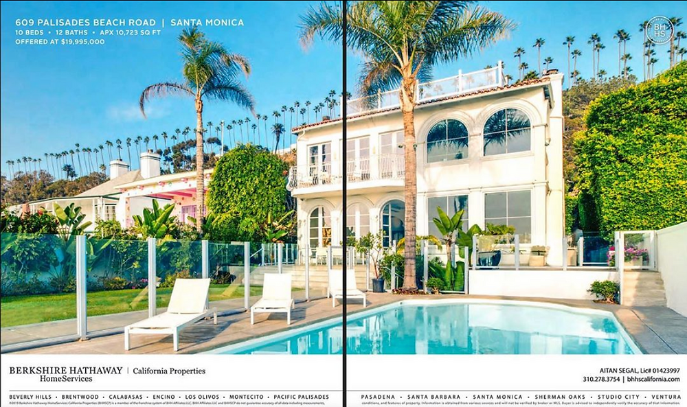 Santa Monica luxury real estate photography