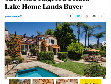 Variety Magazine features my images of Roy Disney's former residence