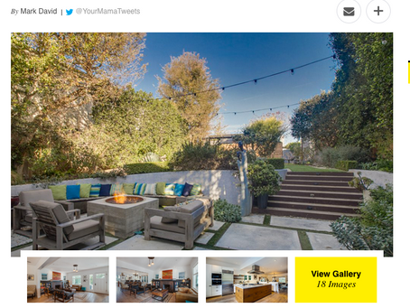 Variety Magazine features my photography of actor Ben Koldyke's Santa Monica residence
