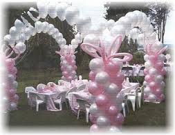 Wedding balloons 4 columns and single line arch.jpg