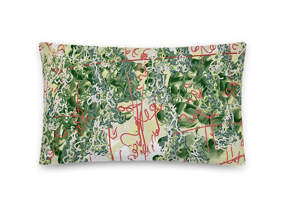"""Oh Evergreen"" 00.1 Pillow"