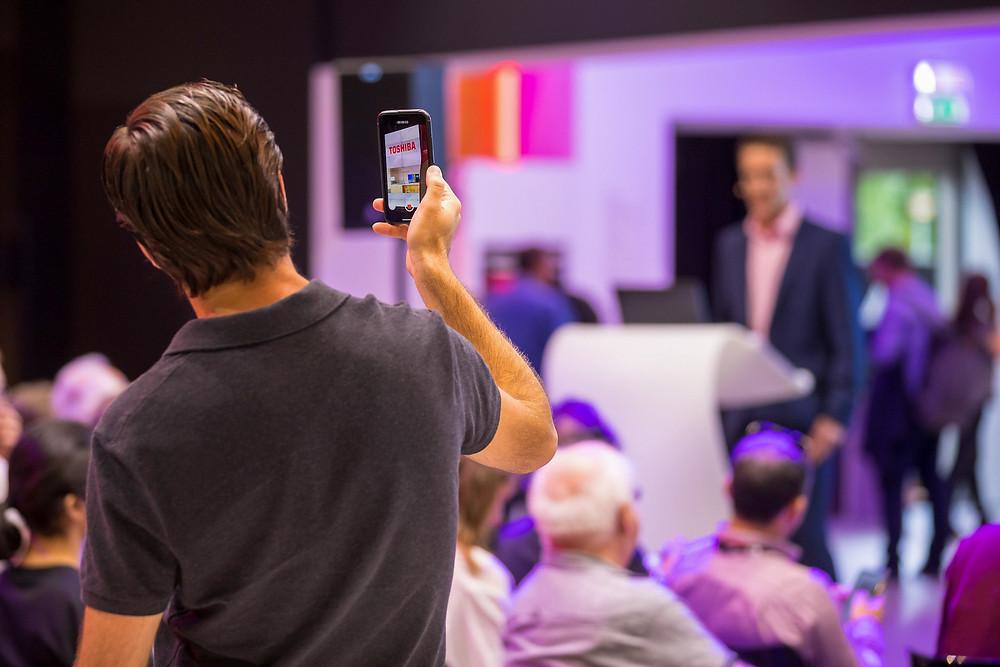 Bedrijfsfotograaf event en beurzen