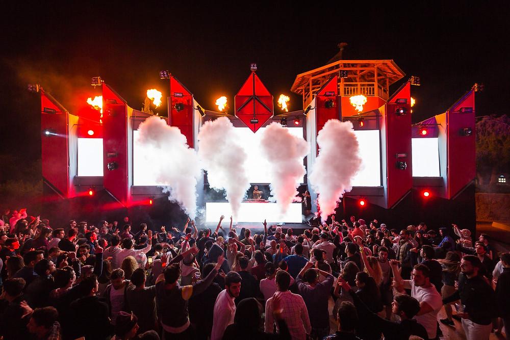DJ Photography at festival