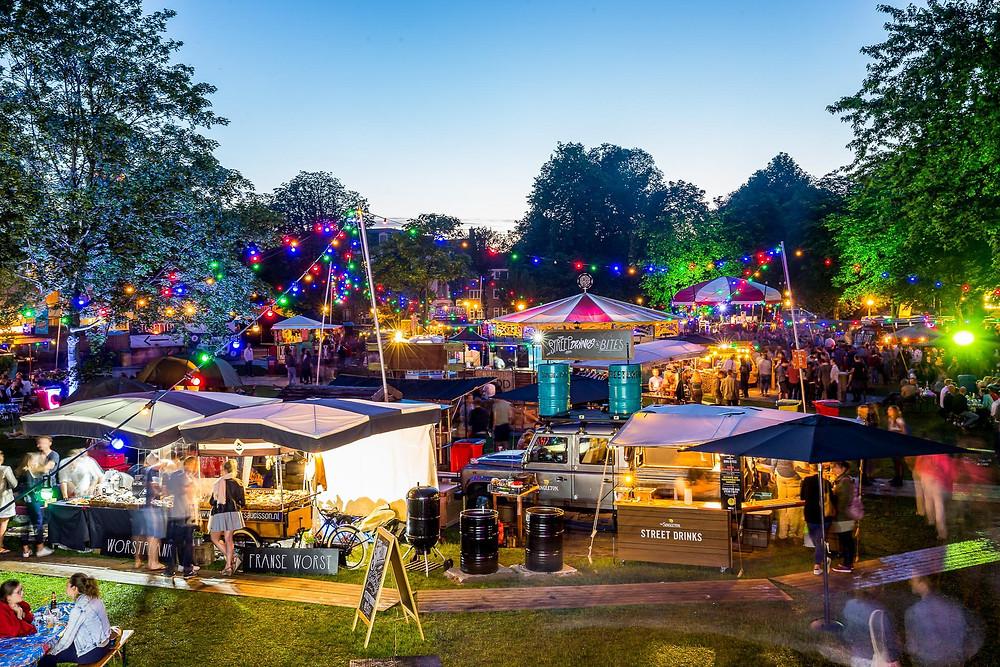 Foodtruck festival Utrecht evenement fotograaf