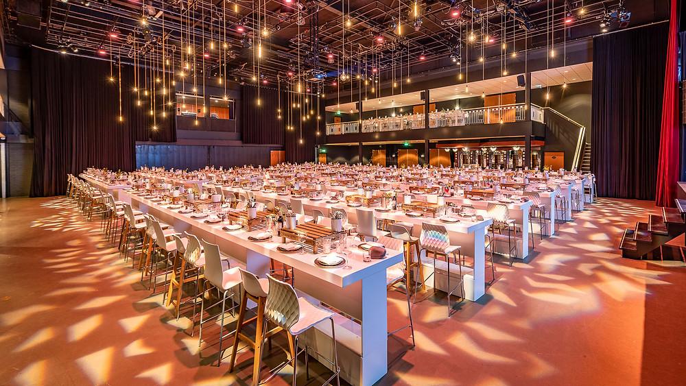 Evenement locatie diner setup