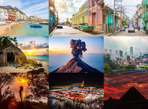 12 van mijn favoriete reisfoto's die ik heb gebruikt voor mijn eerste expositie ooit.
