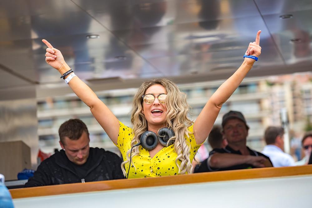 Monaco Grand Prix DJ photo
