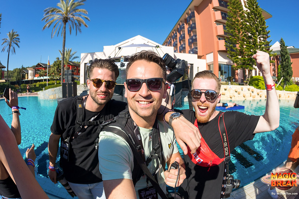 Festival photography team