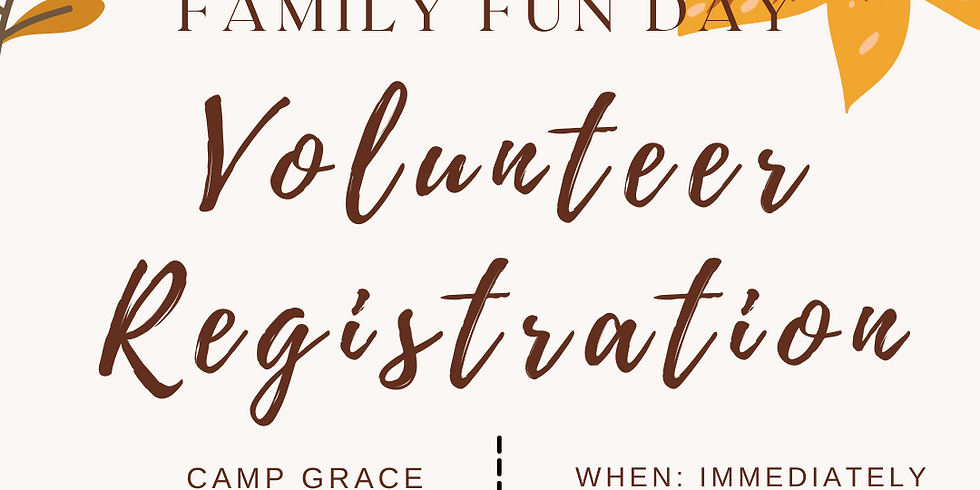 Family Fun Day Volunteer