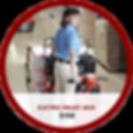 Electric Pallet Jack Woman Driver - 1 .p