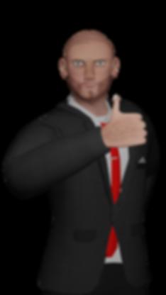 hugh thumbs up render thumbs up.png