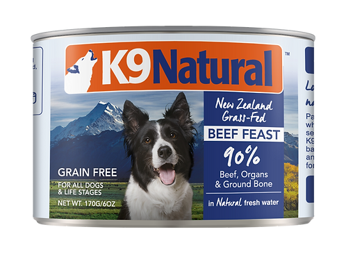 K9: Beef Feast Can