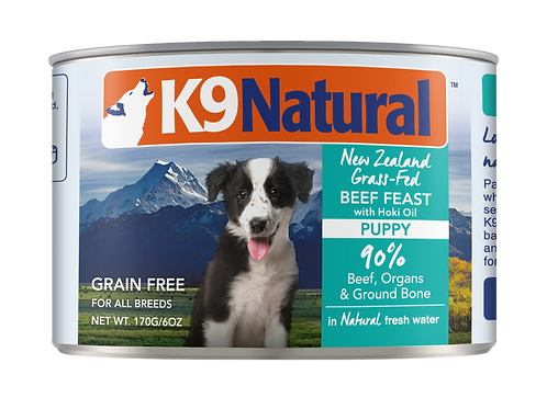 K9: Puppy Beef Feast Can