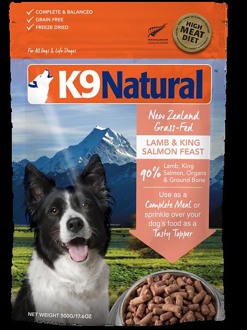 K9: Lamb & Salmon Feast Freeze Dried