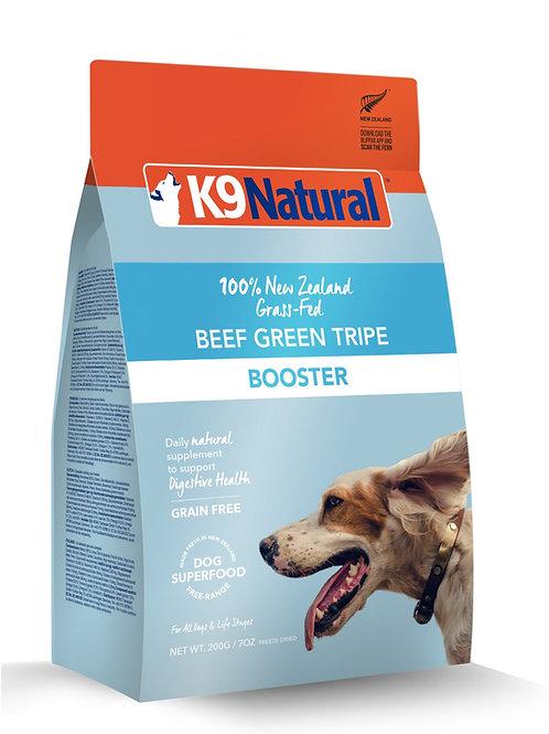 K9: Beef Green Tripe Freeze Dried Booster