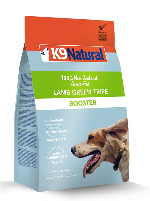 K9: Lamb Green Tripe Freeze Dried Booster