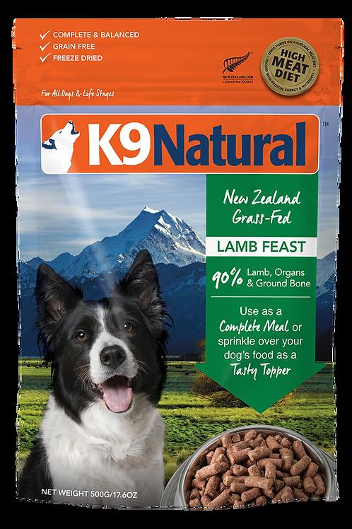 K9: Lamb Feast Freeze Dried