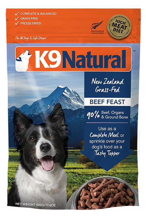 K9: Beef Feast Freeze Dried