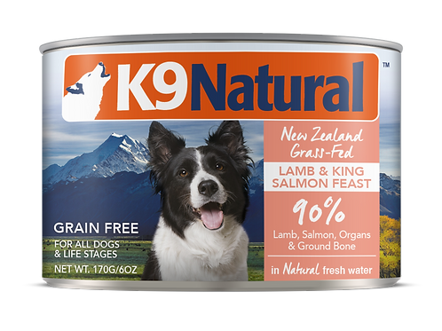 K9: Lamb and King Salmon Feast Can