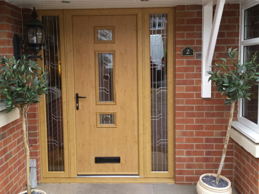 Irish Oak Composite Door!