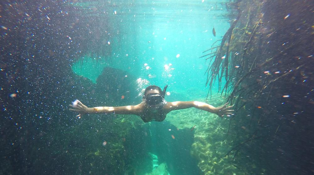 cenote manati tulum yucatan mexico