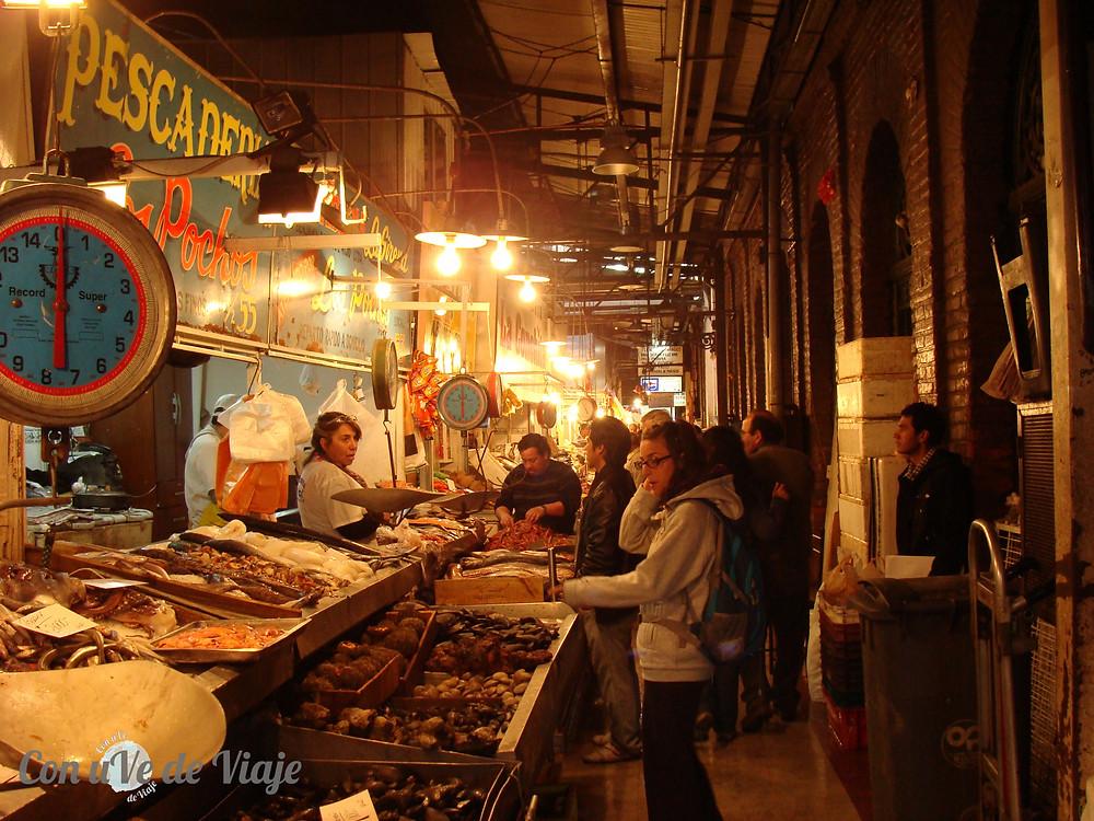 Mercado Central Chile